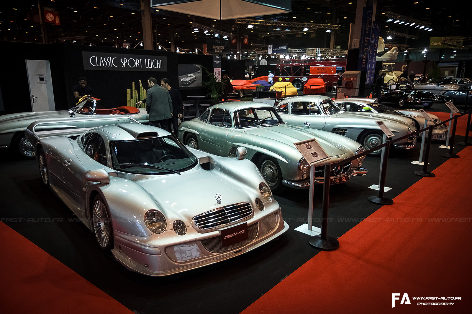 salon retromobile fevrier 2014 mercedes clk lm retromobile 2014 paris. Black Bedroom Furniture Sets. Home Design Ideas