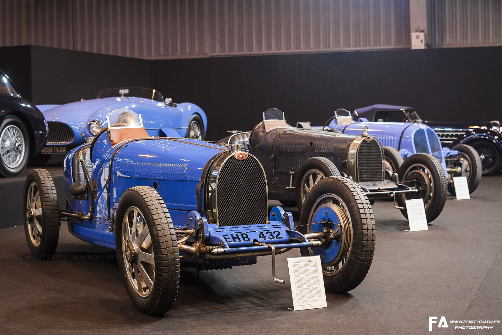 salon retromobile 2015 reportage photo 5 lukas huni bugatti retromobile. Black Bedroom Furniture Sets. Home Design Ideas